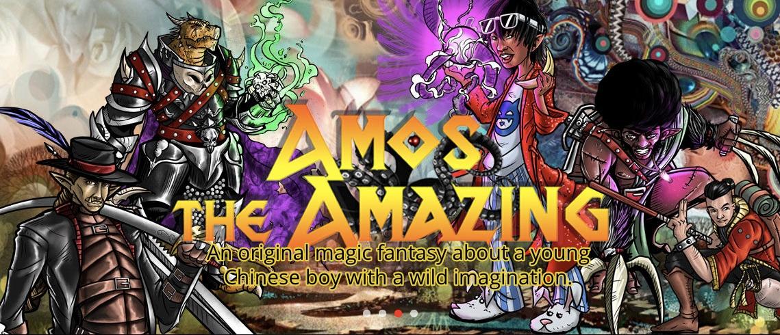 Amos The Amazing: A Chinese Original Magical Fantasy